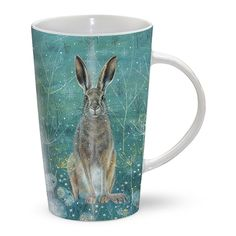 Latte Mug - Handsome Hare | Gifts for him | Gifts for her
