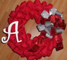 University of Alabama Bama Crimson Tide College by kellyj0411, $28.00