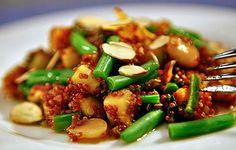 Warm Quinoa Salad Recipe