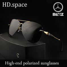 6f3cd89f3c High Quality Brand Designer Cool  Polarized Sports Men Sunglasses UV  Protect Sun Glasses