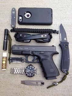 Tech Discover Glock EDC More is part of Edc tactical - Weapons Guns Guns And Ammo Urban Edc Edc Tactical Tactical Wall Everyday Carry Gear Vegvisir Edc Tools Bug Out Bag Edc Tactical, Tactical Survival, Survival Gear, Tactical Wall, Weapons Guns, Guns And Ammo, Urban Edc, Everyday Carry Gear, Edc Tools