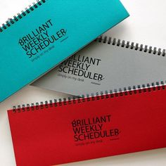 Brilliant Weekly Scheduler