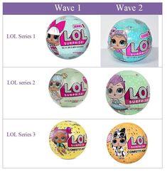 All series of LOL Dolls!