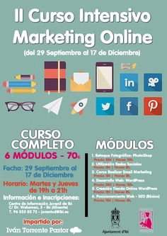 II Curso Intensivo Marketing Online impartido por el Centro Juvenil de Ibi