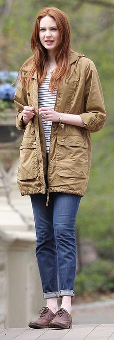 Karen Gillan as Amy Pond. Doctor Who, Season 7 - Angels in Manhattan
