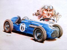 Vintage Race Cars Art Photo 2 of 14