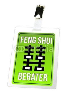Feng Shui Berater - Ausweis, Schild, Pass, Energie - Fotolia