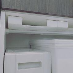 突っ張り棒・突っ張り棚の活用方法4 Washing Machine, Laundry, Home Appliances, Interior, Laundry Room, House Appliances, Indoor, Appliances, Interiors