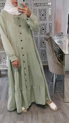 Modern Hijab Fashion, Muslim Women Fashion, Hijab Fashion Inspiration, Indian Fashion Dresses, Abaya Fashion, Mode Inspiration, Modest Fashion, Fashion Outfits, Mode Abaya