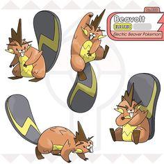 Pokemon Fake, First Pokemon, Pokemon Fan Art, New Pokemon, Pokemon Fusion, Pokemon Regions, Pet Monsters, Character Art, Character Design