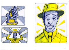 """Page 5 from """"The Yellow Hat"""""""