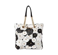 CHUCKLE PATH TOTE: Betsey Johnson