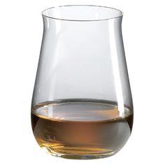 Ravenscroft Distiller Single Malt Scotch Tumbler Glass (Set of 4) with Free Microfiber Cleaning Cloth