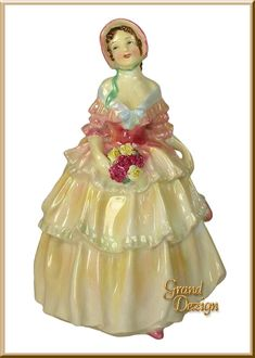 Irene HN1621 Royal Doulton Figurine, www.GrandDezign.com, specializing in Rare and Retired Royal Doulton Figurines