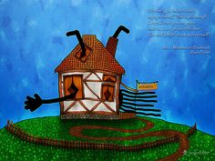 Alice in Wonderland - The Rabbit's House by VladStudio