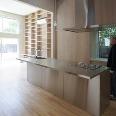 House D is a minimalist house located in Tokyo, Japan, designed by Kochi Architect's Studio.