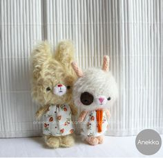mohair dolls