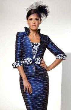 photo of ladies formal daywear design by Sonia Pena: