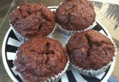 Kakaós-lekváros muffin Muffin, Favors, Food And Drink, Cupcakes, Breakfast, Easy, Gifts, Cupcake, Cup Cakes