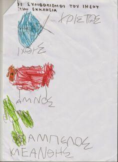 Pitsina Περήφανη Νηπιαγωγός Greek kindergarten teacher: ΟΙ ΣΥΜΒΟΛΙΣΜΟΙ ΤΟΥ ΙΗΣΟΥ ΣΤΗΝ ΕΚΚΛΗΣΙΑ