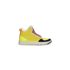 Yellow High Top Irana Shoes  - Adidas By Stella Mccartney Official Online Store - FW 2016 - 2017