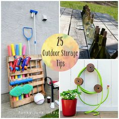 25 Outdoor Storage Tips