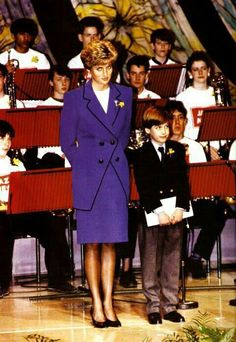 Diana and William.