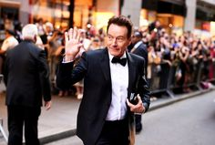 Bryan Cranston outside Radio City Music Hall. Andrew H. Walker/Getty Images for Tony Awards Productions