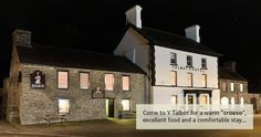 Walkers have been resting weary soles at this Ceredigion inn for centuries or, rather, drovers have.