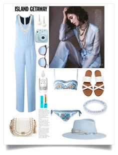 """""""Senza titolo #5954"""" by waikiki24 ❤ liked on Polyvore featuring P.A.R.O.S.H., Le Specs, Belpearl, Brahmin, Anne Klein, Maison Michel, Fujifilm, Dolce&Gabbana, tarte and Herbivore"""