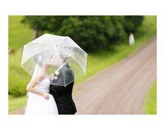 Rainy Wedding day...the road ahead.