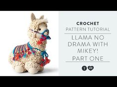 This llama can be stitch up with no drama, thanks to Mikey's newest tutorial! Mikey of The Crochet Crowd is breaking down the popular Llama-No-Drama crochet . Crochet Crowd, Quick Crochet, Crochet For Kids, Crochet Baby, Free Crochet, Dishcloth Knitting Patterns, Knit Dishcloth, Crochet Patterns, Crochet Crafts