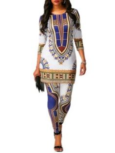African Tops, African Dresses For Women, African Attire, Mega Fashion, Womens Fashion, Fashion Sale, Costume Africain, Pants For Women, Clothes For Women