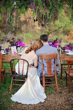 Ruffled – photo by http://arinabphotography.com/ – http://ruffledblog.com/purple-inspired-wedding-ideas/