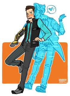 rhys and handsome jack | Tumblr