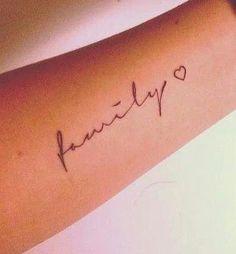 family, tattoo Mehr