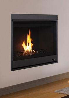 "Superior DRC2033TMN 33"" Top Vent Merit Series Fireplace Direct Vent Gas Fireplace, Fireplace Inserts, Fire Places, Stoves, Deck, Decorating, Wood, Design, Home Decor"