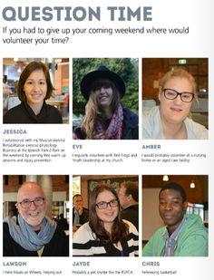 Where do you volunteer your time? http://www.usq.edu.au/SocialHub/behind-the-scenes/2015/08/HeyU%20Issue%2034