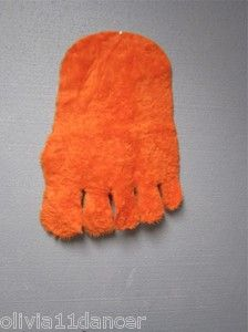 70s furry foot wall hanging - they also had these in stickers
