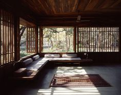 covered patio / veranda . copper house II . studio mumbai, architects . chondi, india