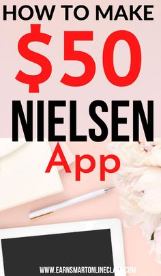 Want some extra cash? Here's how to make $50 dollars pretty fast! Nielsen Computer Panel will send you 50 dollars when you keep their app on your smartphone. This is an easy online jobs that can help you make money online in your spare time. Take up this side hustle today and start earning from home. #sidehustles #makemoney #easyonlinejobs #makemoneyfast Work From Home Careers, Work From Home Companies, Legitimate Work From Home, Work From Home Opportunities, Work From Home Tips, Easy Online Jobs, Online Jobs From Home, Online Work, Earn From Home