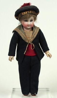 Antique sailor doll