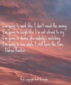 Some of my favorite Darius Rucker lyrics