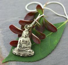 Dharmashop.com - Silverplated Buddha Pendant , $11.00 (http://www.dharmashop.com/silverplated-buddha-pendant/)