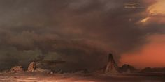 ArtStation - Warcraft Movie | Matte Painting, Jonathan Berube