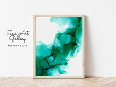 Abstract Turquoise Wall Art Alcohol Ink Prints Modern | Etsy Teal Room Decor, Teal Rooms, Blue Living Room Decor, Turquoise Wall Art, College Dorm Decorations, Modern Wall Decor, Abstract Wall Art, Printable Wall Art, Original Paintings
