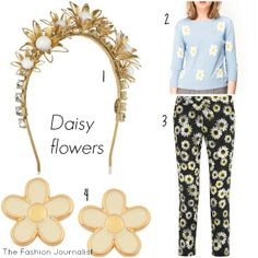 Wear the daisy flowers print in cute dresses to create super-chic looks Daisy Flowers, Flower Prints, Cute Dresses, Spring, How To Wear, Fashion, Pretty Dresses, Floral Patterns, Moda