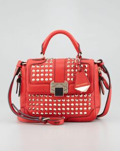 Studded Purse - Poppy. Love this!!