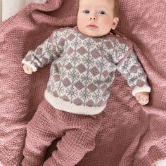 DG359-02 Mina babysett | Dale Garn 4 Kids, Children, Knit Fashion, Little Star, Baby Knitting Patterns, Knit Crochet, Knits, Crocheting, Sweaters