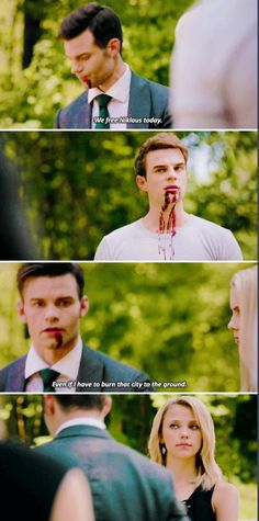 """No Quarter"" - Elijah, Kol, Freya and Rebekah The Mikaelsons, The Cw, Vampire Diaries Cast, Vampire Diaries The Originals, Charles Michael Davis, Claudia Black, No Quarter, Kol Mikaelson, The Originals Tv"